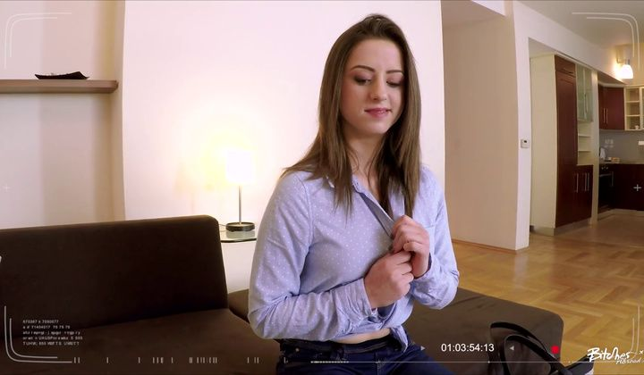 POV - 19 Year Old European Teen Gabriella Lati Gets Cum Covered I…